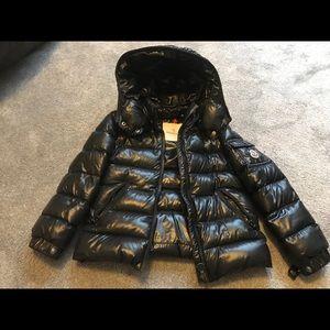 Toddler Moncler Black Coat